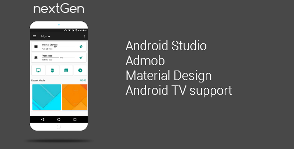 CodeCanyon nextGen File manager & Root Explorer & FTP Transfer & Android TV 20485330