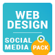 Web Design Social Media Pack