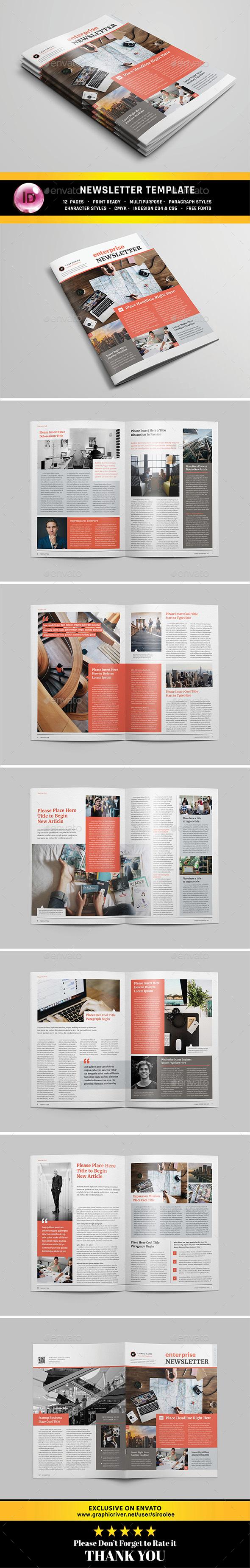 GraphicRiver Multipurpose Newsletter v.05 20485362