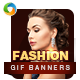 Fashion Animated GIF Banners