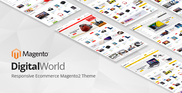 Digitalworld - Responsive Magento 2 Theme - Magento eCommerce