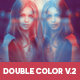 Double Color Exposure Photoshop Actions Vol. 2