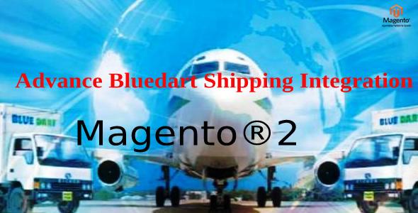 Advance Bluedart Shipping Integration Magento 2