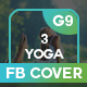 Yoga And Fitness Facebook Cover - GraphicRiver Item for Sale