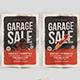 Gerage sale flyer - GraphicRiver Item for Sale