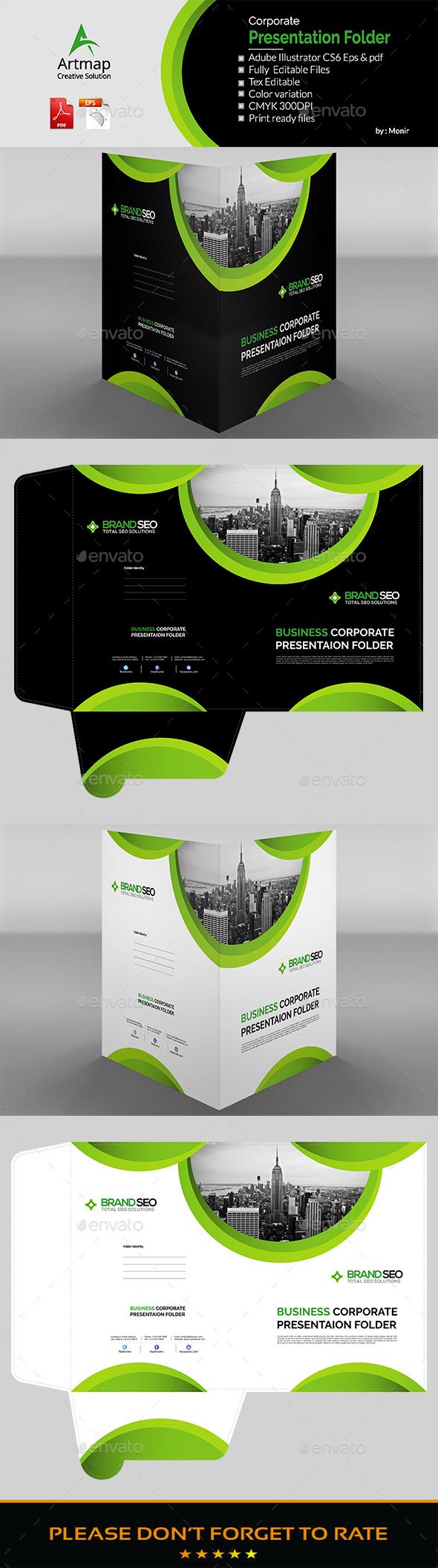 GraphicRiver Presentation Folder 20486286