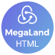 MegaLand - Multipurpose Landing Page Template - ThemeForest Item for Sale