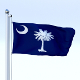 Animated South Carolina Flag