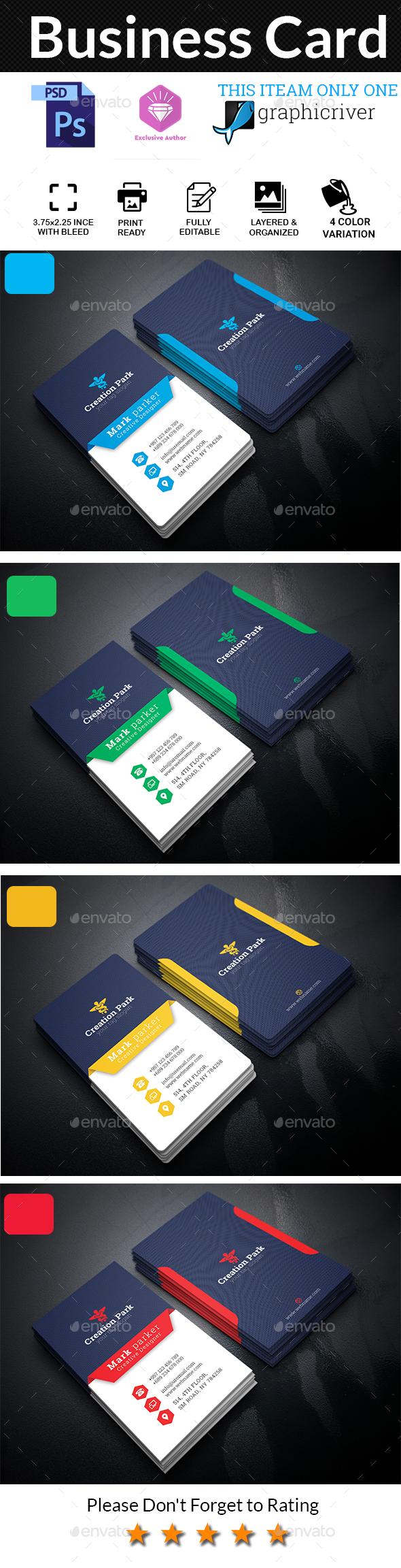 GraphicRiver Business Card 20475834