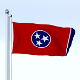 Animated Tennessee Flag