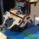 Three Dimensional Printer During Work, 3D Printing.