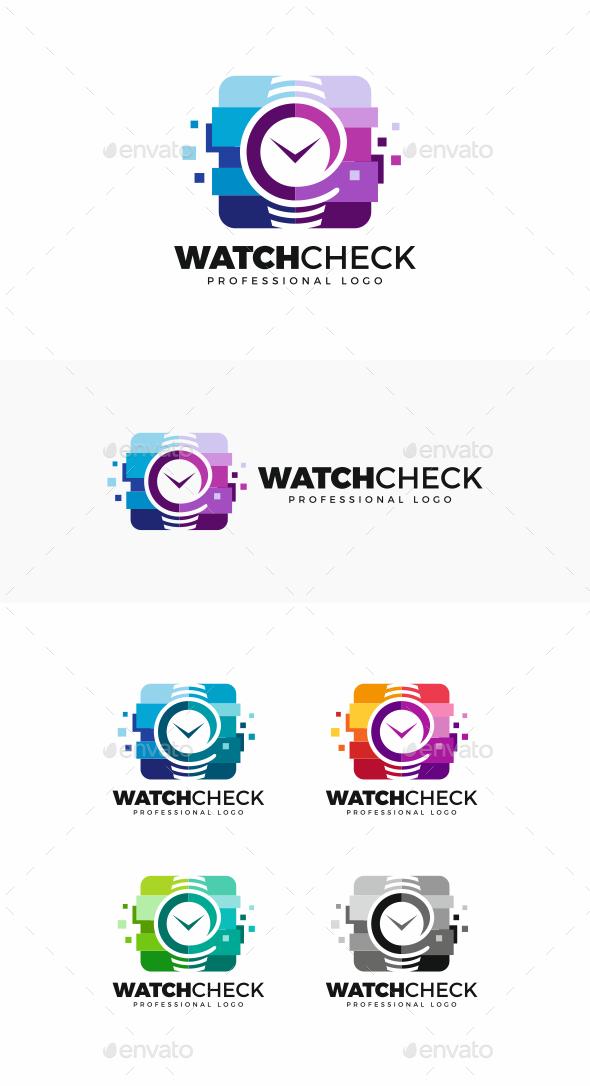 Watch Logo - Objects Logo Templates