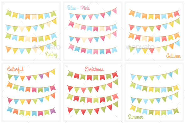 Bunting - Decorative Vectors