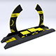 Sport podium arc low poly - 3DOcean Item for Sale