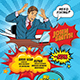 Comic Style Flyers - GraphicRiver Item for Sale
