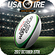 Rugby Flyer Template - GraphicRiver Item for Sale