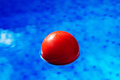 Red ball in swimming pool - PhotoDune Item for Sale