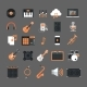Music Instruments And Equipment Electronics Icons