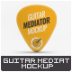 Guitar Mediator Mock-Up - GraphicRiver Item for Sale