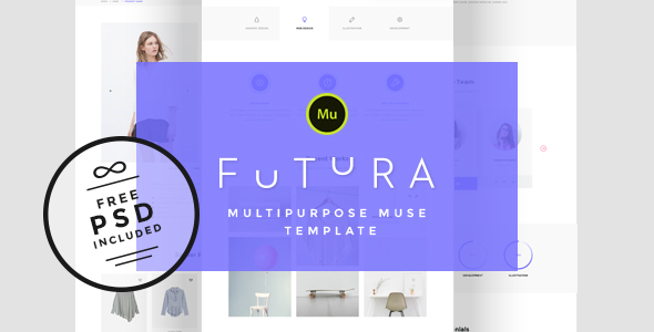 Futura - Multipurpose Muse Template