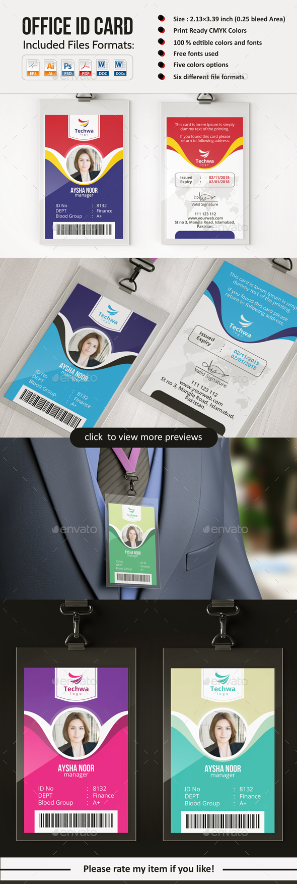 GraphicRiver Office ID Card 20487369