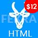 Gazelle - Multipurpose Responsive HTML Template