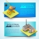 Building Equipment And Factory Banners - GraphicRiver Item for Sale