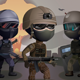 2D Special Forces Character Sprites - GraphicRiver Item for Sale