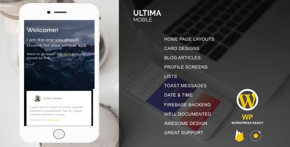 CodeCanyon ultima Mobile Version 20471073