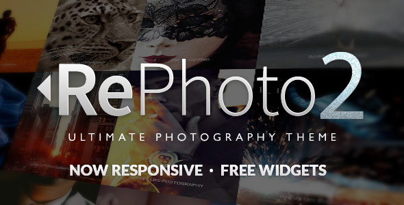 RePhoto - Photography Muse Template - Creative Muse Templates