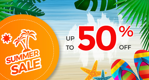 Summer Sale up to 50% OFF (deal expired)