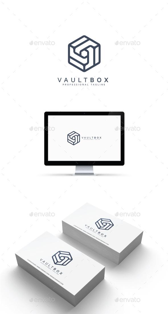 GraphicRiver Vault Box Logo 20487706