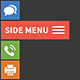 Super Side Menu - provide any extra content and functionality with the attention-grabbing side menu