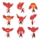 Red Devil Characters