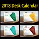 2018 Multipurpose Desk Calendar - GraphicRiver Item for Sale