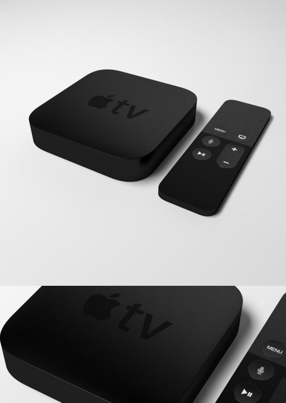 3DOcean Apple Tv 20488768