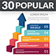 30 Popular Infographic Elements - GraphicRiver Item for Sale
