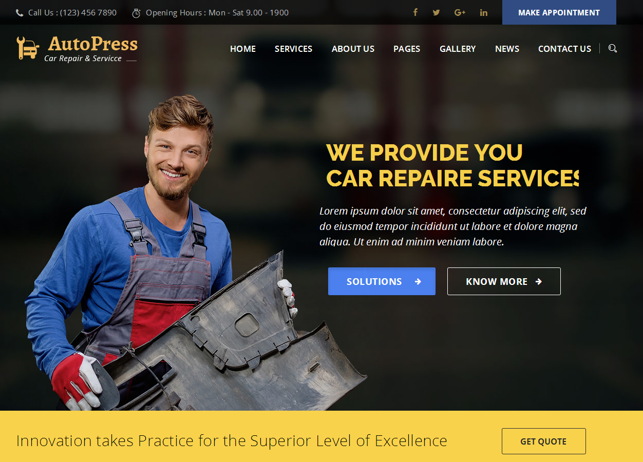 Autopress: a selection of sites