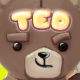 Teddy Bear 2D Game Character Sprites - GraphicRiver Item for Sale