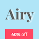 Airy - Flexible Blog & Magazine WordPress Theme - ThemeForest Item for Sale