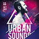 Urban Sounds Party Flyer - GraphicRiver Item for Sale