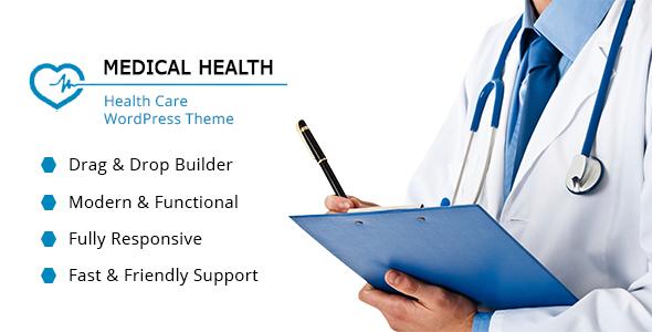 ThemeForest Healthcare WordPress Theme 19264353