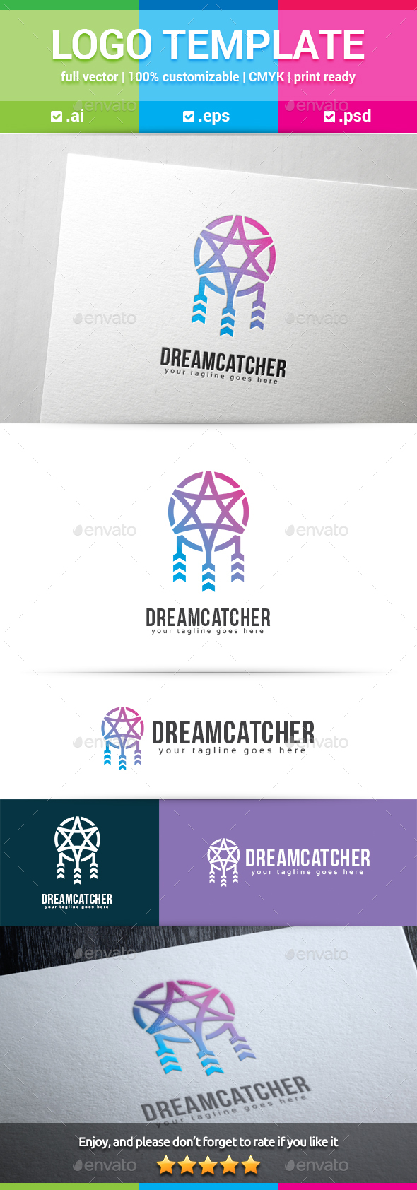 GraphicRiver Dream Catcher Logo 20489246