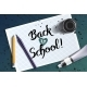 Welcome Back To School Handdrawn Lettering