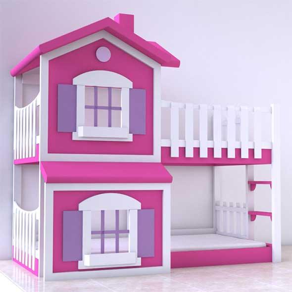 3DOcean Bunk Bed 20489420