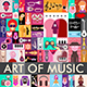 Art of Music Vector Illustration