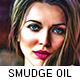 Smudge Oil Paint