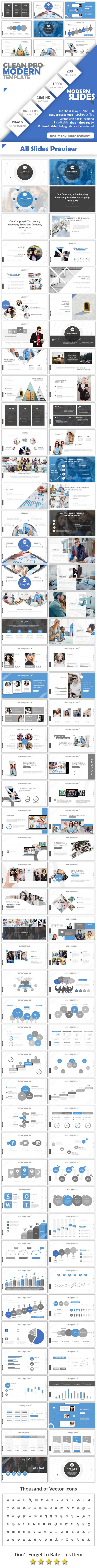 Clean Pro Creative - Business PowerPoint Templates