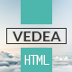 VEDEA - Responsive HTML Template For Portfolio/Blog