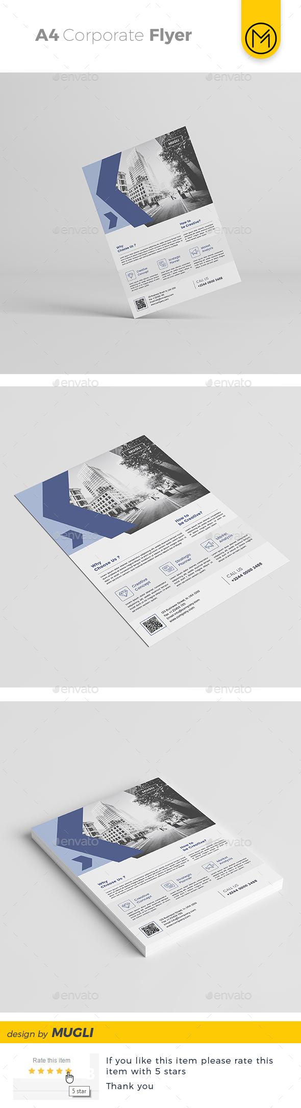 GraphicRiver Corporate Flyer 20489772